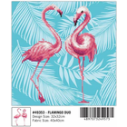 Leisure Arts . LSA Diamond Art - Flamingo Duo