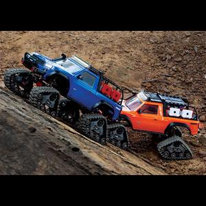 Traxxas Corp . TRA Traxxas TRX-4 with Traxx 1/10 Scale 4X4 Extreme-Terrain Tracks
