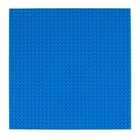 Imex Model Co. . IMX Lego Compatible Baseplate - Blue (2pkg)