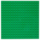 Imex Model Co. . IMX LEGO Compatible Baseplate - Green (2pkg)