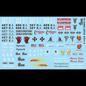Gofer Racing . GOF 1/24 Racing Stuff Sheet Decals #3