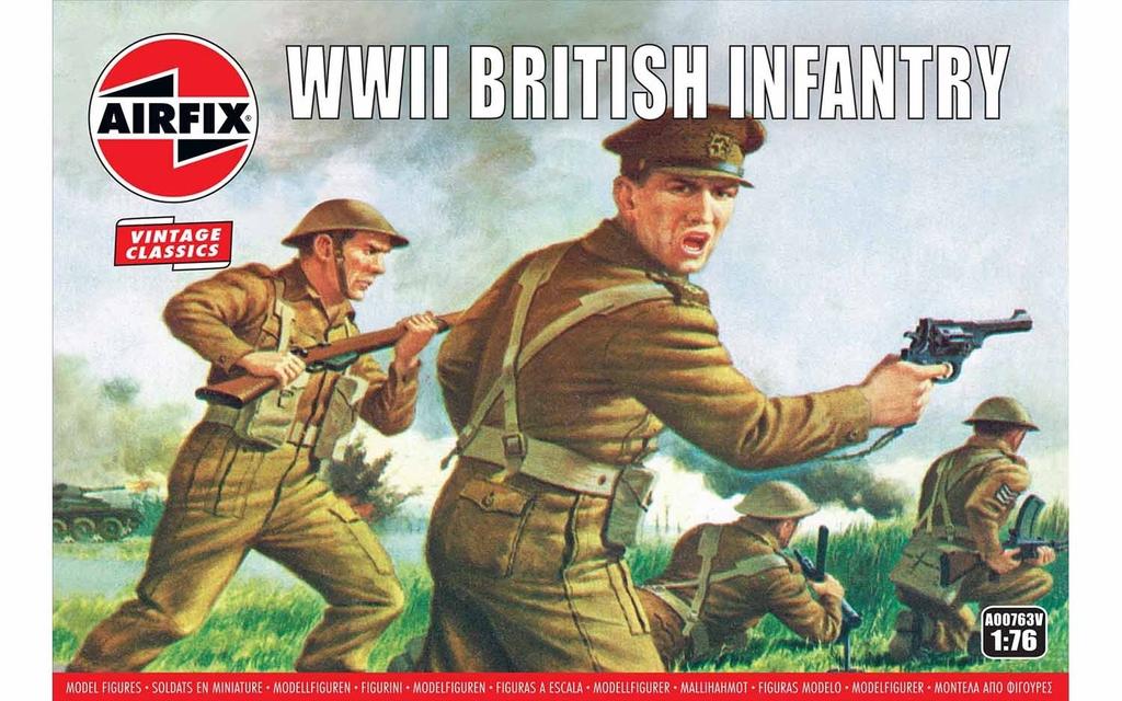 Airfix   ARX 1/76 WWII British Infantry