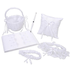 Victoria Lynn Collection . VLC White Wedding 5pc Set