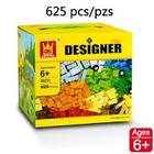 WANGE . WAG Designer Bricks 625Pc