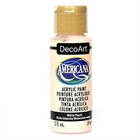 Decoart . DEC (DISC)-White Peach Acrylic 2 oz
