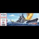 Atlantis Models . AAN 1/535 USS Iowa Battleship