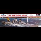 Atlantis Models . AAN 1/535 USS Wisconsin BB-64