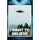 "Atlantis Models . AAN I Want To Believe UFO 5"""