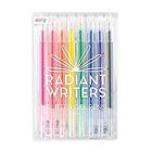 Radiant Glitter Pens Set Of 8