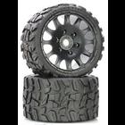 Raptor Belted Monster Truck Wheels/Tires (pr.), Pre-mounted