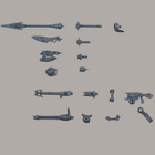 Bandai . BAN 30MM OPTION WEAPON 1 FOR PORTANOVA