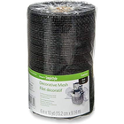 "Floracraft . FLC Decorative Mesh 6""- Metallic Black"
