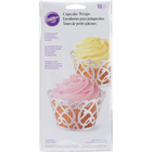 Wilton Products . WIL Wilton Cup Cake Wraps Package of 18