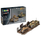 Revell of Germany . RVL 1/76 Char B.1 Bis and Renault FT.17