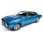 American Muscle Diecast . AMD 1/18 1967 Camaro Hardtop SS (50th Anniversary) - Marina Blue
