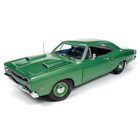 American Muscle Diecast . AMD 1/18 1969 Dodge Super Bee Hardtop - Green