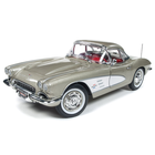 American Muscle Diecast . AMD 1/18 1961 Chevrolet Corvette Hardtop (MCACN) - Fawn Beige