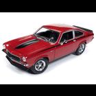 American Muscle Diecast . AMD 1/18 1972 Chevrolet Vega Yenko Stinger (MCACN) - Man-O-War Red