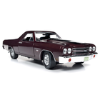American Muscle Diecast . AMD 1/18 1970 Chevrolet El Camino Car Truck (100th Anniversary) - Black Cherry
