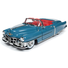 Auto World . AWD 1/18 1953 Cadillac Eldorado Convertible - Tunis Blue