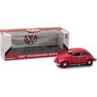 Green Light Collectibles . GNL 1/18 1967 Volkswagen Beetle Right-Hand Drive - Candy Apple Red