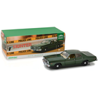 Green Light Collectibles . GNL 1/18 Artisan Collection - Hunter (1984-91 TV Series) - 1977 Dodge Monaco