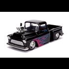 Jada Toys . JAD 1/24 - 1955 Chevy Stepside - Glossy Black