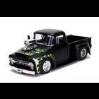 Jada Toys . JAD 1/24 - 1956 Ford F100  Primer Black
