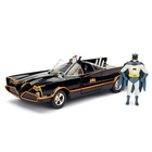 Jada Toys . JAD 1/24 Build & Collect Model Kit 1966 Classic TV Series Batmobile w/Batman & Robin