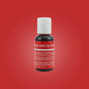 Chefmaster - Tulip Red Gel (no taste) .70oz