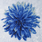 "Leisure Arts . LSA Blue Dahlia Diamond Art Beginner Kit 8""X8"""