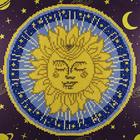 "Leisure Arts . LSA Sun Mandala Diamond Art Intermediate Kit 12""X12"""