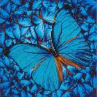 "Fiutter/Blue Diamond Embroidery Facet Art Kit 15""X15"""