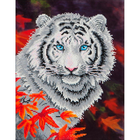 "White Tiger Diamond Embroidery Facet Art Kit 17.25""X21.75"""