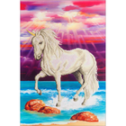 "Unicorn Diamond Embroidery Facet Art Kit 26.5""X22.5"""