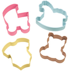 Wilton Products . WIL Metal Cookie Cutter - Baby Theme