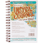 "Strathmore . STR Strathmore Visual Journal Watercolor 5.5""X8"""