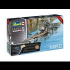 Revell of Germany . RVL 1/350 Tirpitz Battleship Premium Edition