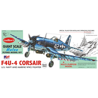 Guillows (Paul K) Inc . GUI VOUGHT F4U4 CORSAIR