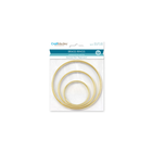 MultiCraft . MCI Brass Rings 3/Pkg