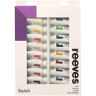 Reeves Art Supplies . REE Reeves Oil Colour 22ml 20/Pkg