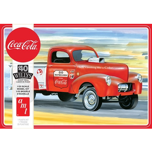 AMT\ERTL\Racing Champions.AMT 1/25 1940 Willys Pickup Gasser Coca-Cola