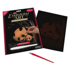 Royal (art supplies) . ROY Engraving Art Copper Panda & Baby