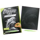 Royal (art supplies) . ROY Silver Engraving Dolphins