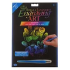 Royal (art supplies) . ROY Rainbow Engrave Art Clown Fish