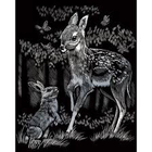Royal (art supplies) . ROY Engrave Art Silver - Fawn & Bunny