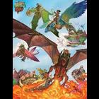 Cobble Hill . CBH Dragon Flight Puzzle 350pc (Family Pieces)
