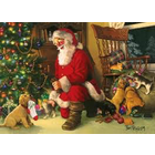 Cobble Hill . CBH Santa's Lucky Stocking Puzzle 350pc