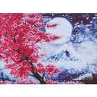 Cherry Blossom Mountain Diamond Embroidery