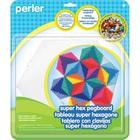 Perler (beads) PRL Perler Bead Super Pegboard Hexagon